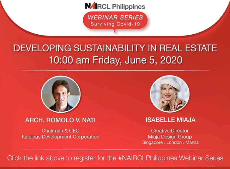 Developing Sustainability in Real Estate: IDC CEO Speaks at NAI RCL PH