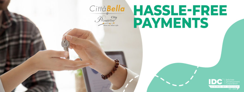 How to do Payments easily with Città Bella at Primavera City
