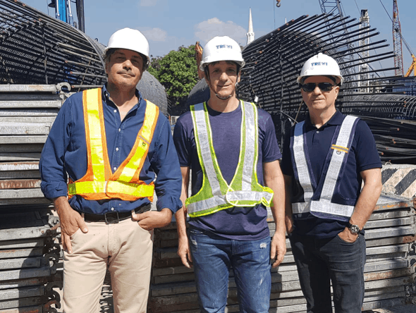 ARCH. NATI INVITED TO VISIT THE MANILA SKYWAY CONSTRUCTION SITE