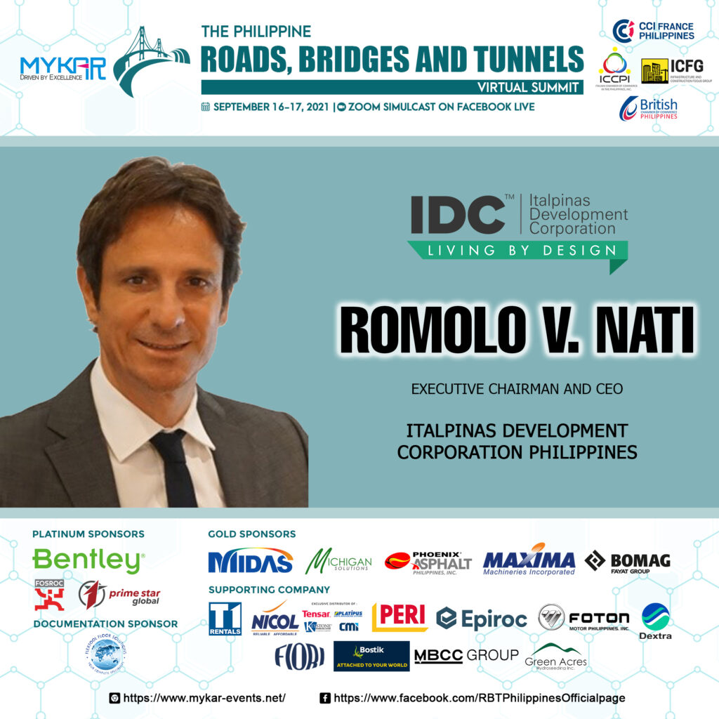 Architect Romolo Nati discusses the importance of Infrastructure for Economic Growth