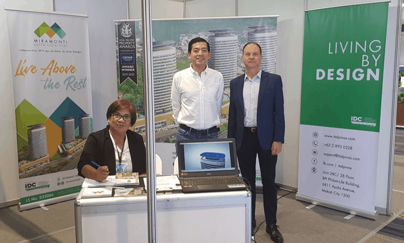 ITALPINAS DEVELOPMENT CORPORATION AT THE REAL ESTATE EXPO 2019