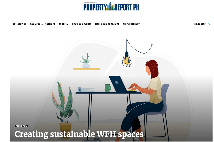 Creating sustainable WFH spaces