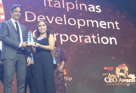 ITALPINAS AND CEO ARCH. NATI AMONG CIRCLE OF EXCELLENCE AWARDEE AT THE 10th ASIA CEO AWARDS 2019