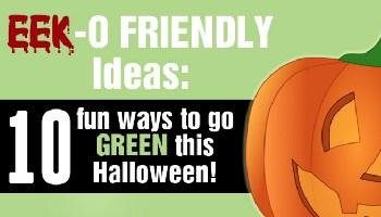 EEK-O-FRIENDLY Ideas: 10 Fun Ways to Go Green this Halloween!