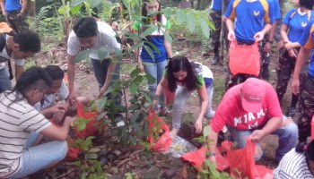 Italpinas joins PAFTOG 10-led Tree Planting Activity in Indahag