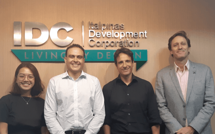 "REPRESENTATIVES OF THE FINANCIAL ADVISORY FIRM ""PRIMEIRO PARTNERS"" VISIT IDC'S OFFICE IN MANILA"