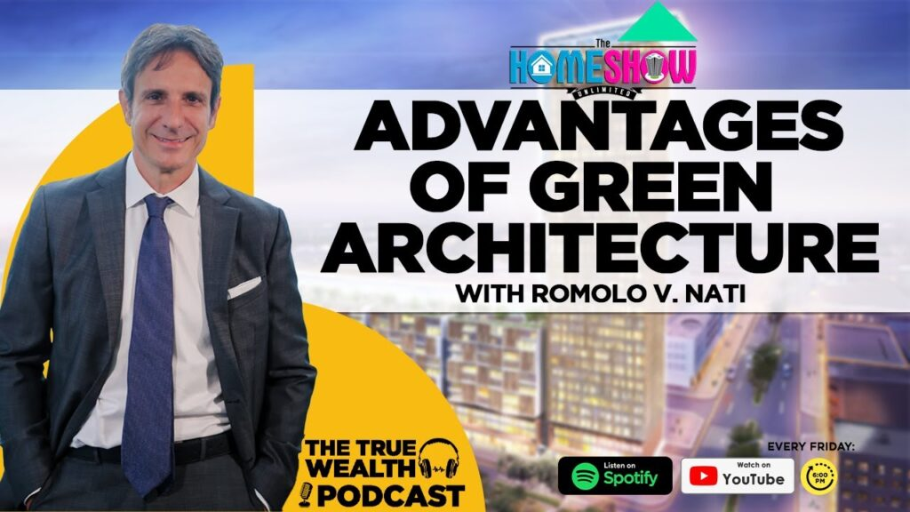 Advantages of Green Architecture discussed by Architect Romolo Nati
