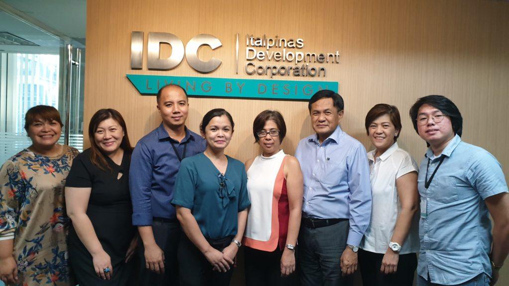 Italpinas partners with Prof. Rene T. Domingo