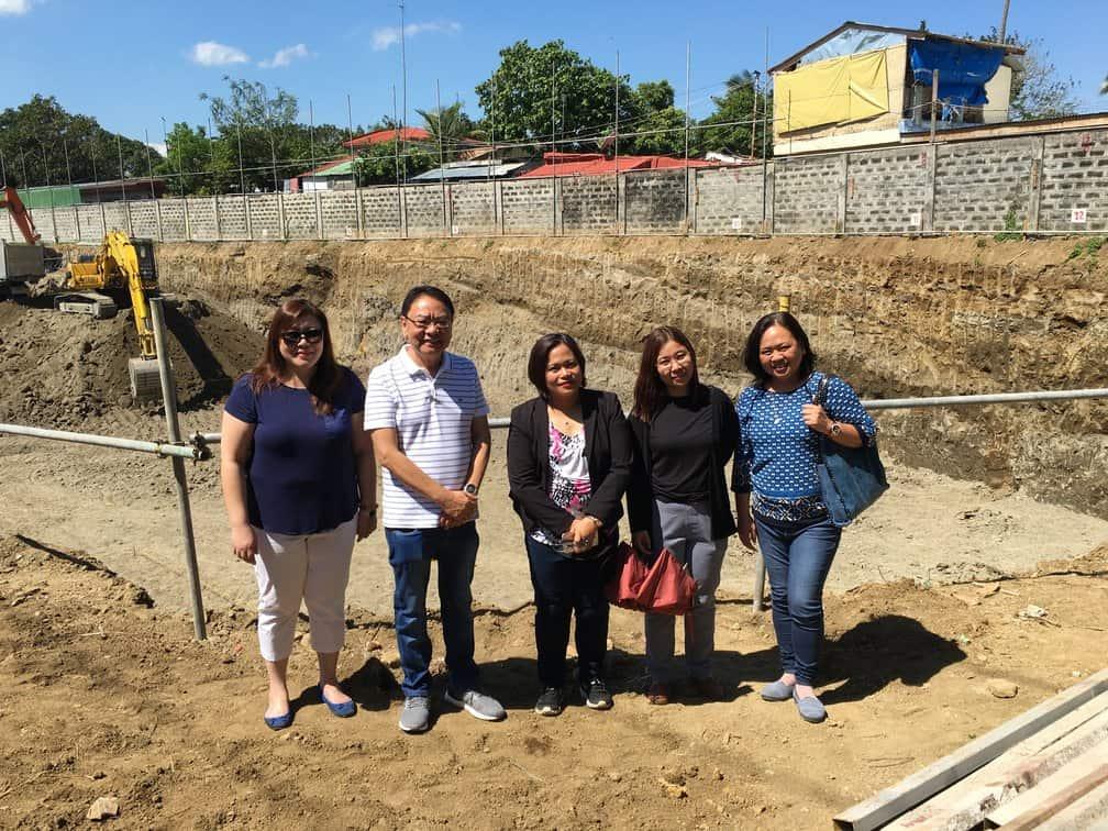 Landbank Visits IDC's Miramonti Green Residences